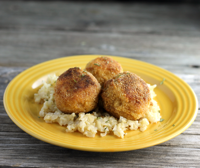 Chicken Kiev Meatballs