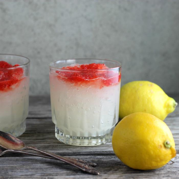 Lemonade Strawberry Slush