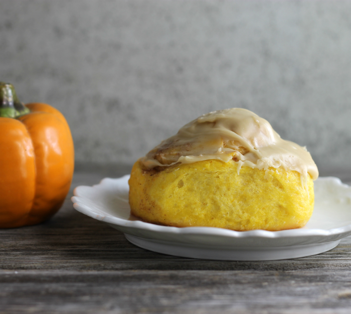 Pumpkin Sweet Rolls