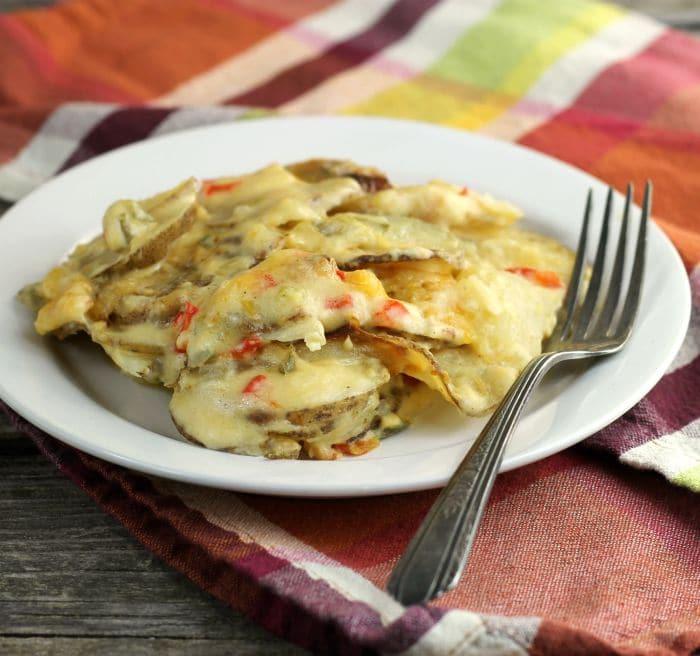 Mexican Cheesy Potatoes