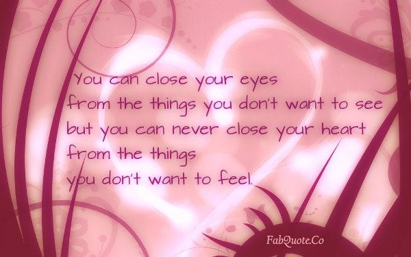 Image result for closing your heart