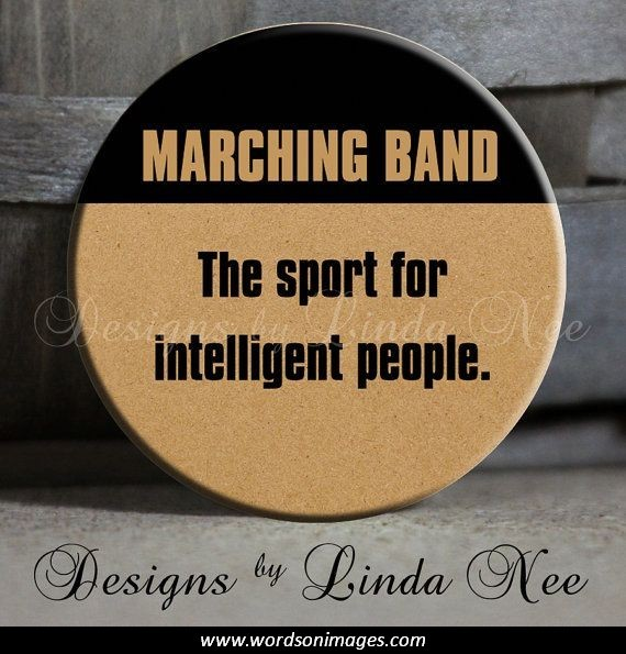 Band Inspirational Quotes Marching
