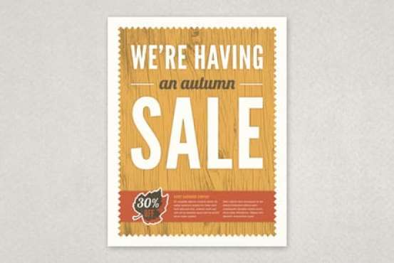 sale flyer template 3