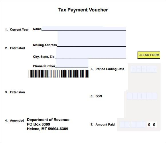 7 Free Payment Voucher Templates Excel Pdf Formats
