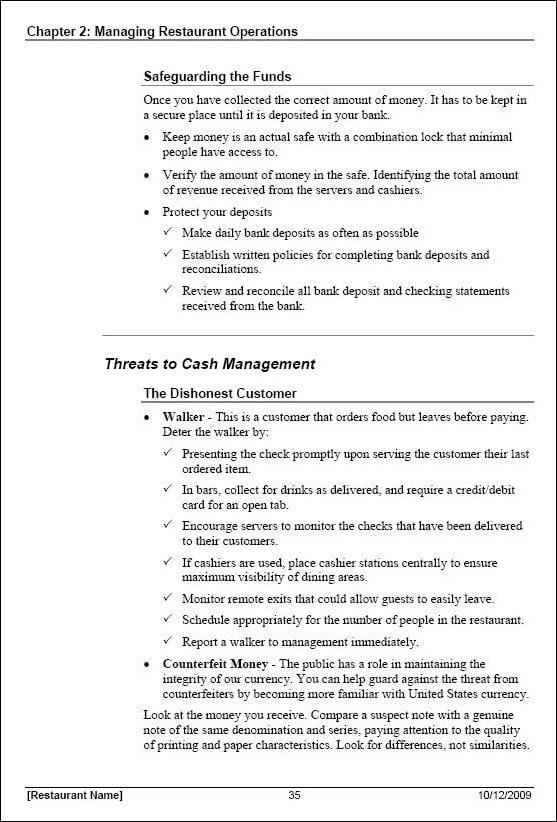 training manual template 2