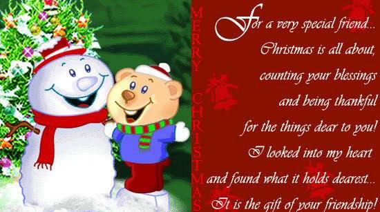Christmas card template doc