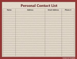 phone number listing by address