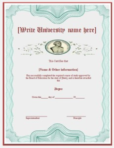 2 degree certificate templates free word templates yadclub Images