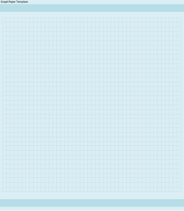 Graph Paper Templates  Printable Word  Excel Templates
