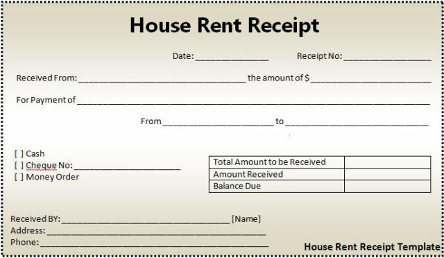 Blank Printable Invoices Pdf House Rent Receipt Format  Free Word Templates What Is Dealer Invoice Price Mean Pdf with Standard Invoice Terms Excel  Labor Receipt Template