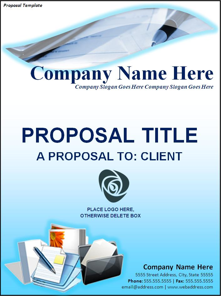 Free Proposal Template – Word Template for Proposal