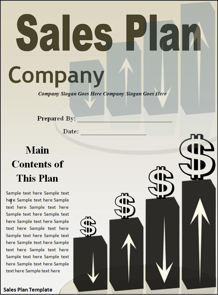 Sales Plan Templates  Printable Word  Excel Templates