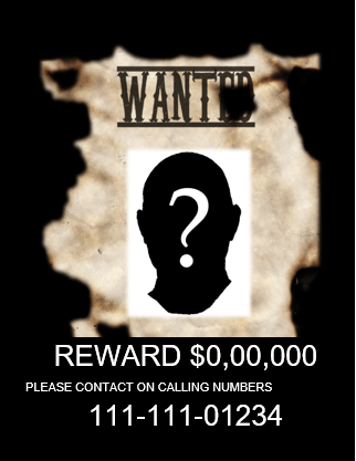 word 2007 wanted poster