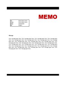 Memo-Template