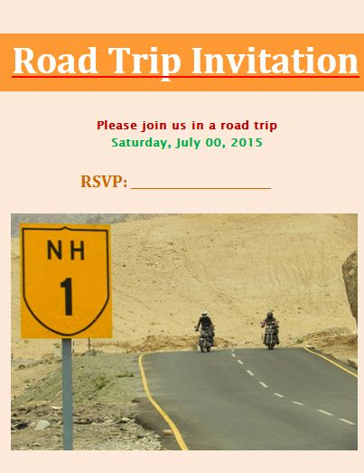 Invitation Templates Archives - Free Word TemplatesFree Word Templates