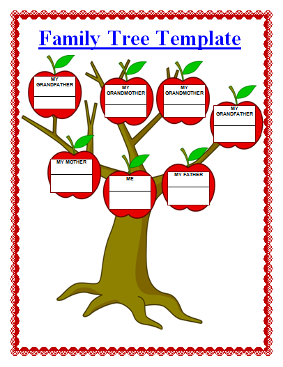 16 Family Tree Templates Free Word Templates