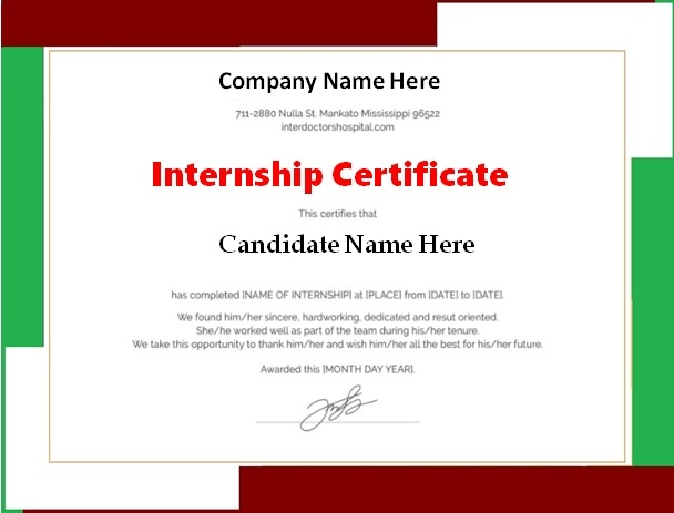Certificate Templates Free Word Templates