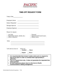 Employee Vacation Request Form Example Archives - Word Templates pro