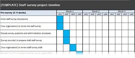 4 Project Timeline Excel Templates - Excel xlts