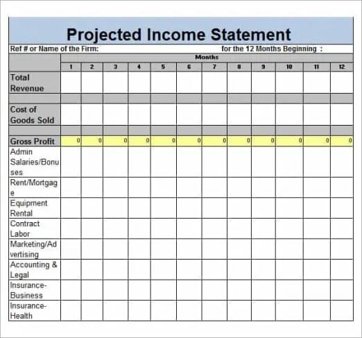 income statement maker