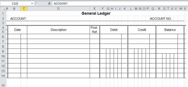 real estate trust account ledger template - 4 ledger statement formats in excel excel xlts
