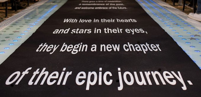 Star Wars Wedding Aisle Runner