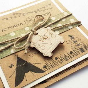 Festival Wedding Stationery - from Eaton Cards