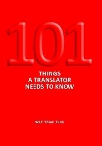Book: 101 things a translator needs to know
