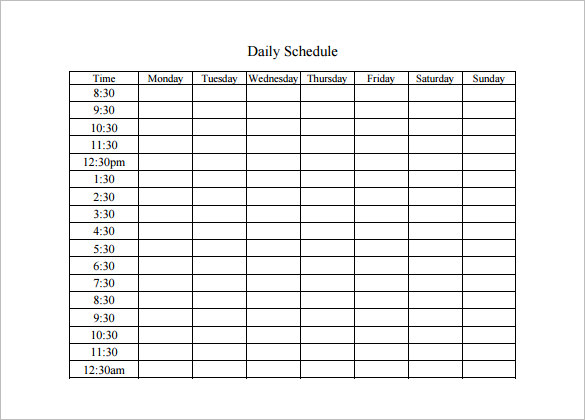 As Mentioned In Recent Lines That Planning Makes Everything Perfect, One  Must Have Creative Planning Skills To Manage Time For Different Things.  Daily Planning Template