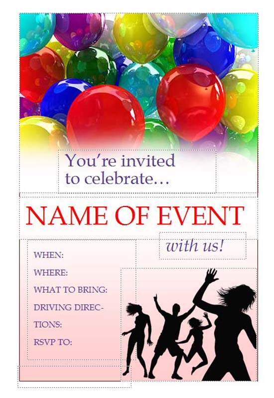 event flyer templates word templates docs
