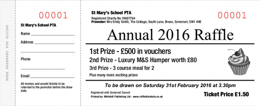 these free raffle ticket examples and formats are considered as great resources to make and print tickets at home or in office