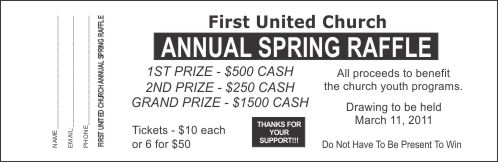 These Following Raffle Ticket Samples Are Print Friendly And Editable As  Well.  Benefit Ticket Template