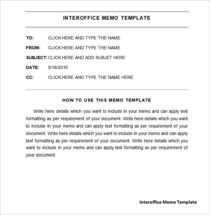 download pack of 17 free interoffice memo templates in 1 click