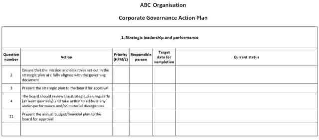 21 free word excel action plan templates excel word pdf
