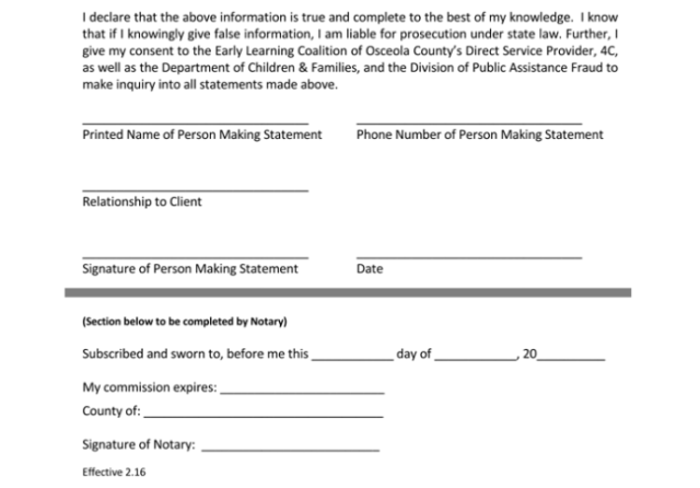 Notarized Letter Templates Samples