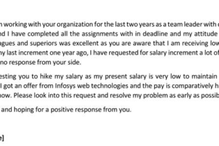 formal letter format salary increment letter format by employer copy template letter requesting salary increase new letter format salary increment new