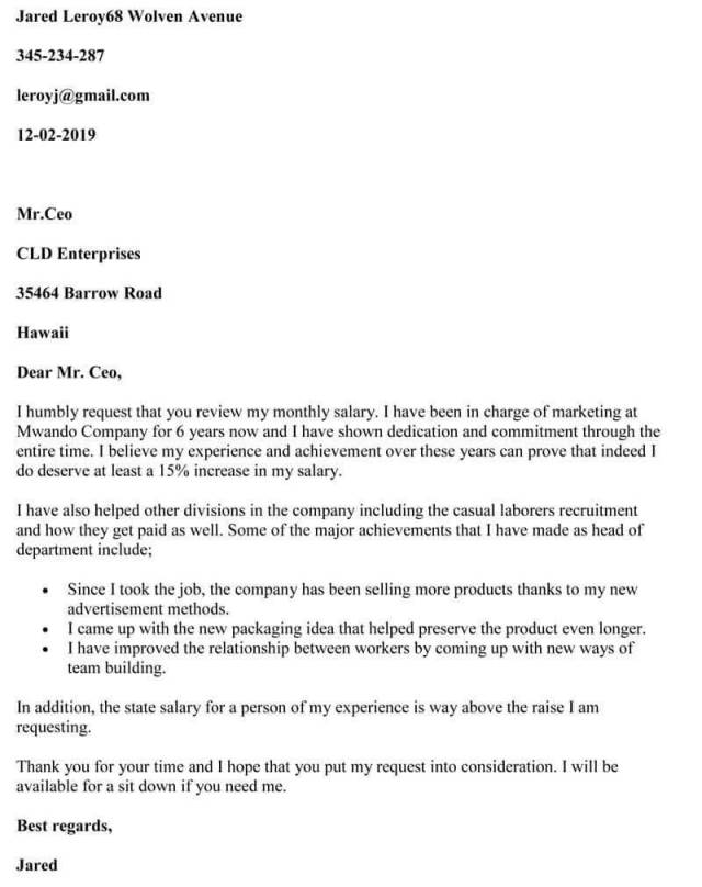 How to Write a Perfect Salary Increase Letter (Tips & Sample Letter)