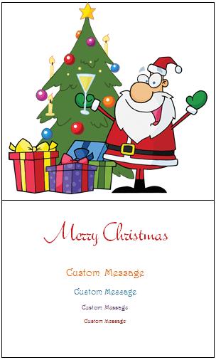 Twas Christmas ...  Microsoft Publisher Christmas Templates