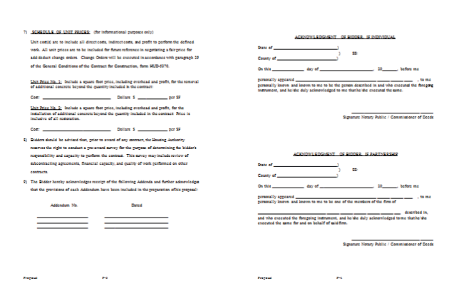 Bid proposal template word free download saigontimesfo