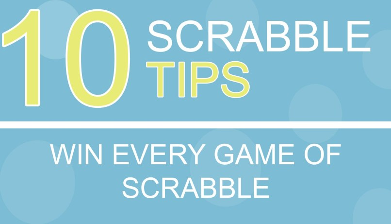Scrabble Tips 10 To Help