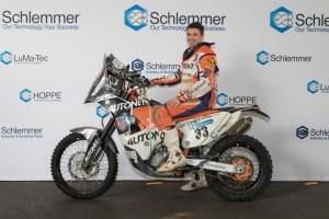 Schlemmer Talentförderung: Motorsportler Emanuel Gyenes