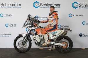Schlemmer talent promotion: Motorsport racer Emanuel Gyenes