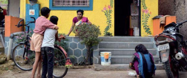 No door village Shanishingnapur