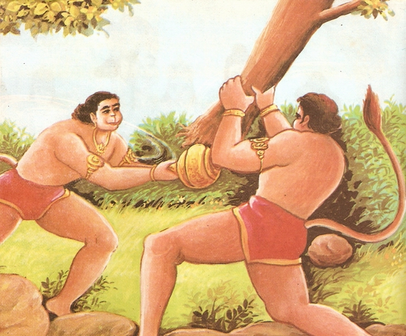 Ramayana Part-6  Meeting Hanuman  (10)