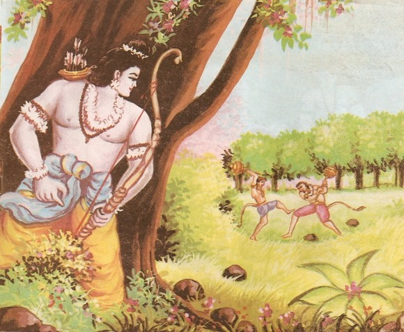Ramayana Part-6  Meeting Hanuman  (11)