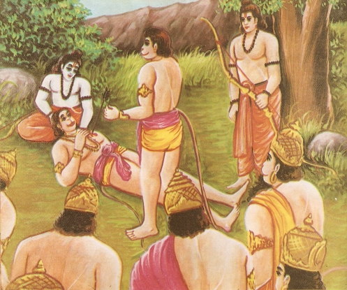 Ramayana Part-6  Meeting Hanuman  (12)