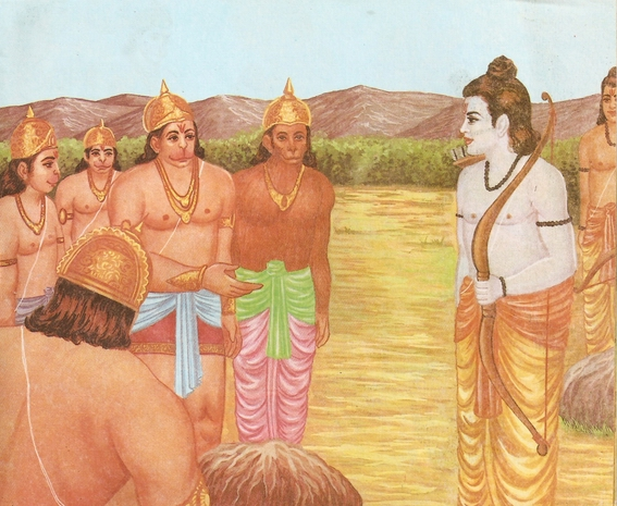 Ramayana Part-6  Meeting Hanuman  (7)