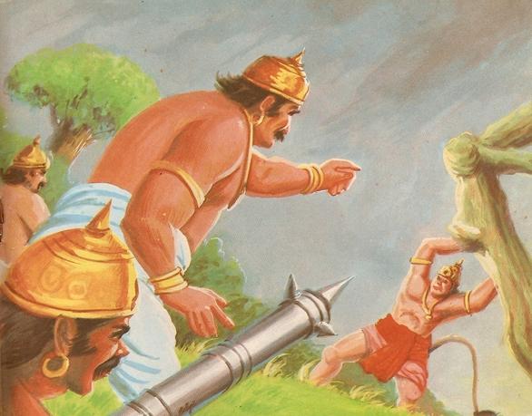 Ramayana Part-7  Lanka Dahan (13)