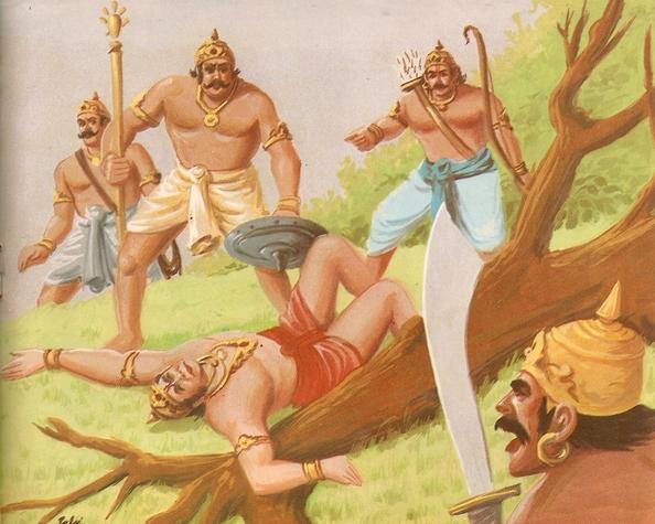 Ramayana Part-7  Lanka Dahan (15)