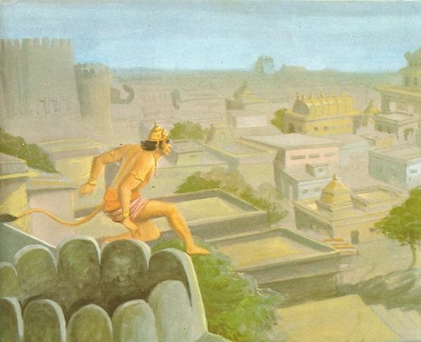 Ramayana Part-7  Lanka Dahan (5)